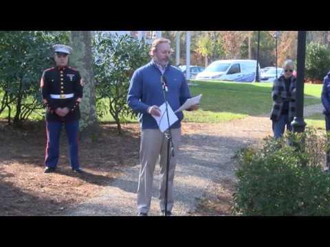 Mashpee Veterans Day Service 2019