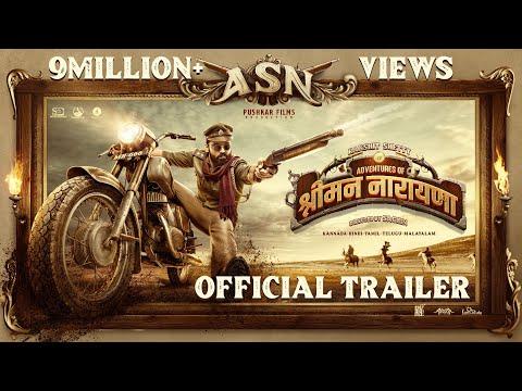 Adventures of Srimannarayana - Official Hindi Trailer   Rakshit Shetty   Pushkar Films   Shanvi