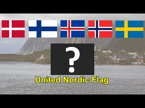 We Created A United Nordic National Flag