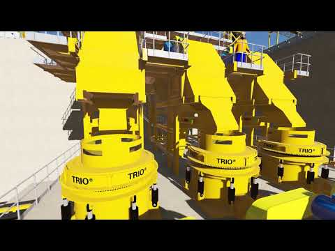 Trio Weir Minerals Global Mining Solutions Gold Heap Leach Project Review
