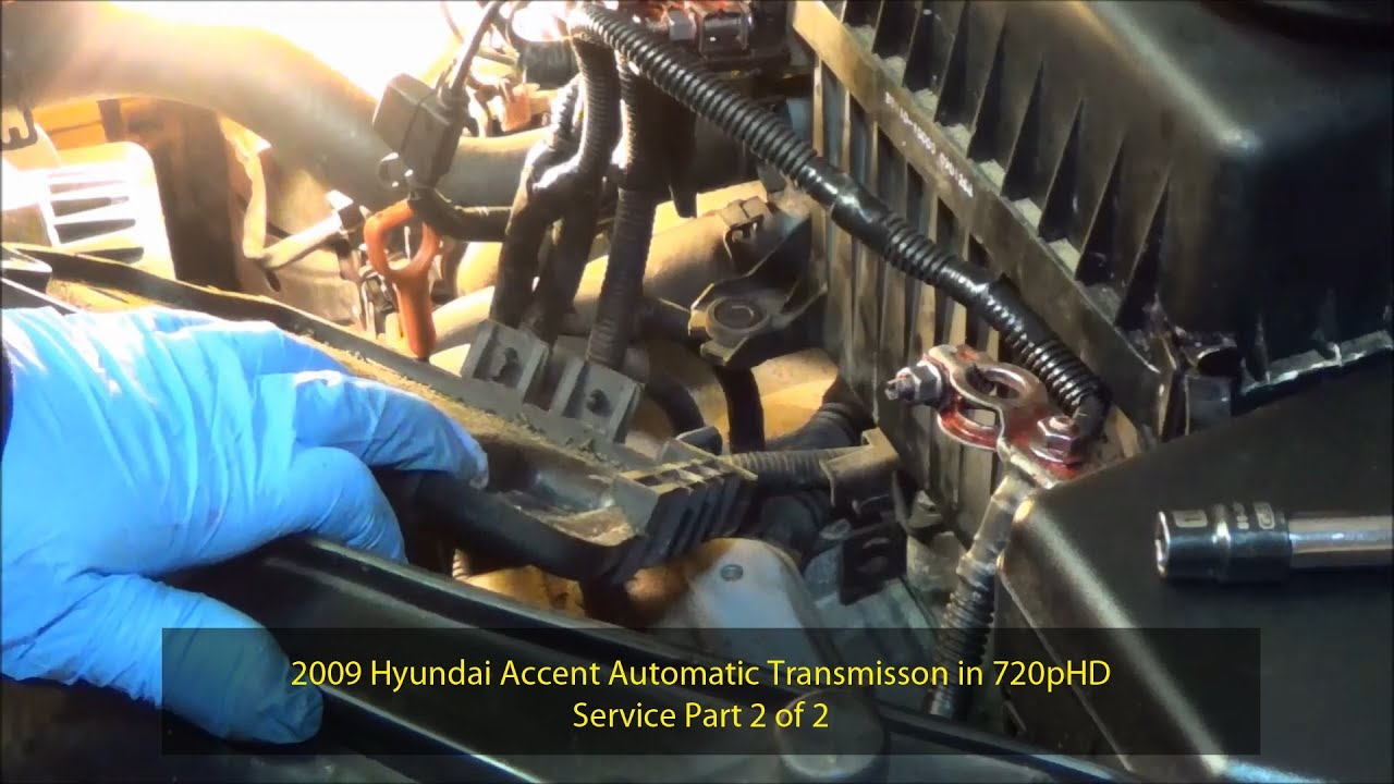 2009 Hyundai Accent Automatic Transmission Service Part 2 Of 2 720phd