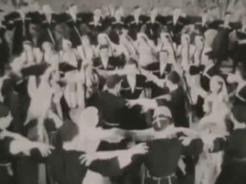 Georgian Folk Dances - Documentary Videos from Archives