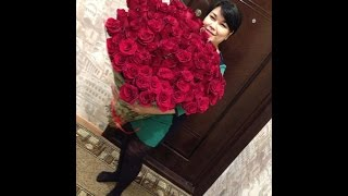 видео 101 роза