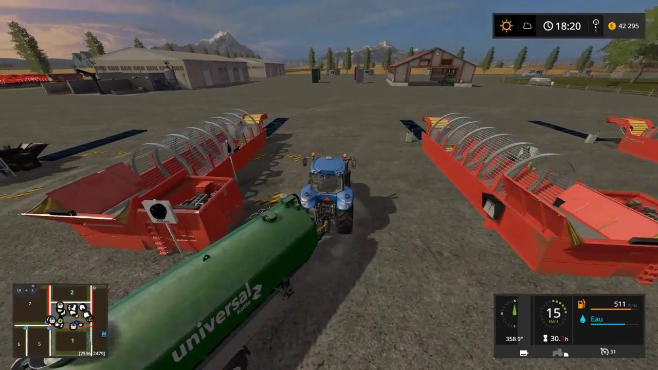 FS17 Map Canadian ultimate 2 alimenter usines