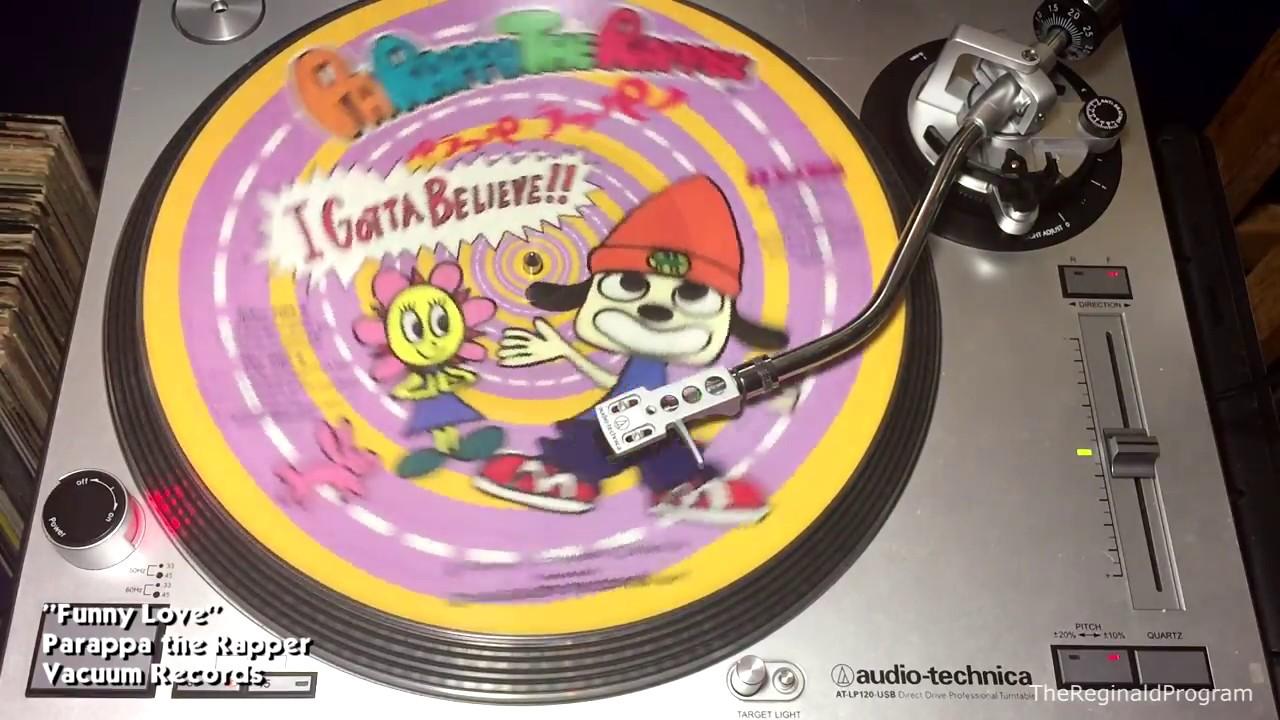 Parappa The Rapper Side B Vinyl Rip Vacuum Records