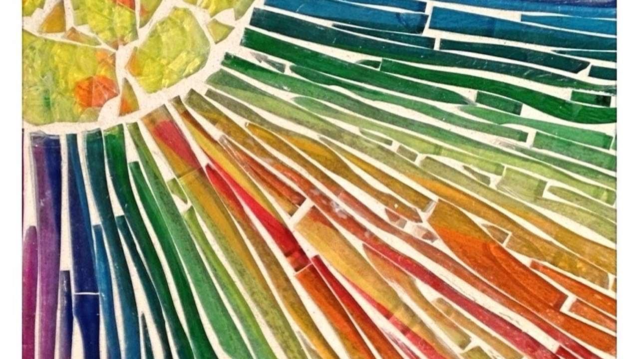 Crea un originale mosaico di vetro fai da te creazioni for Fai da te creazioni