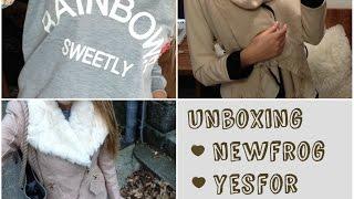 Rozbalování 3 balíčků z Newfrog, Yesfor, Aliexpress / Unboxing