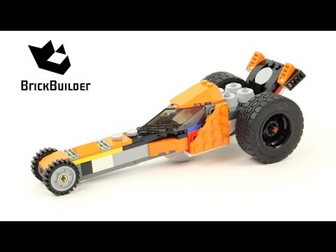 Lego Creator 31059 Dragster - Lego Speed Build