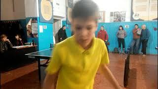настольный теннис Николаев 09.12.2018 Бойко Vs Кривошея