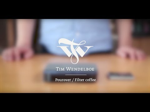 How to make Pourover/Filter Coffee w/ Tim Wendelboe