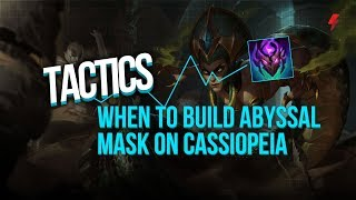 Why everyone is building Abyssal Mask on Cassiopeia, according to the numbers
