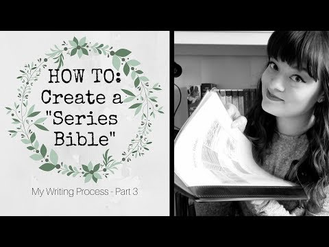 How To Create A Series Bible + FREE TEMPLATE || Jenna Van Mourik