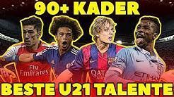 FIFA 16: BESTE U21 TALENTE OHNE TRAINING! 90+ KADER! KARRIERE POTENZIAL!| HD Deutsch