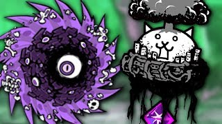 Defeating Manic Flying Cat AND Zyclone! (Battle Cats)