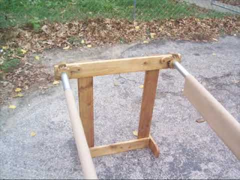 Miller's Quilt Frame Plans - YouTube : homemade quilting frame - Adamdwight.com