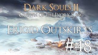 Dark Souls 2 DLC II [CotIK] PC 100% Walkthrough 48 ( Frigid Outskirts ) Boss: Lud & Zallen