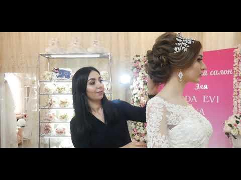 Съёмки свадебном салоне