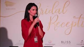 Dubai Opera House Bridal Reception 2018