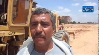 استمرار إنشاء الطريق الحر على طريق مصر إسكندرية الزراعي