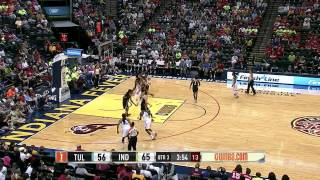 Condensed Game: Tulsa Shock vs. Indiana Fever,6/25/2014