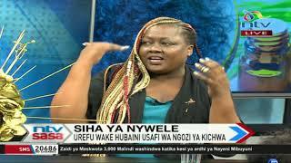 Mkiweka nywele bandia - 'weaves' -, tafadhali toeni baada ya wiki tatu - Muthoni
