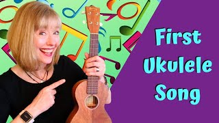 Learn Your Very First Ukulele Song   New to Uke - The Cowboy Song