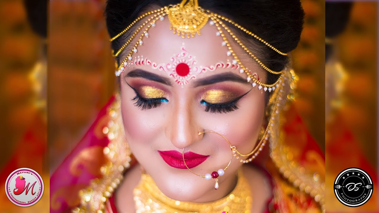 best bengali indian bridal makeup tutorial 2019 hd - mayuri sinha sarkar