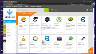 Gambar cover how to download uptodown