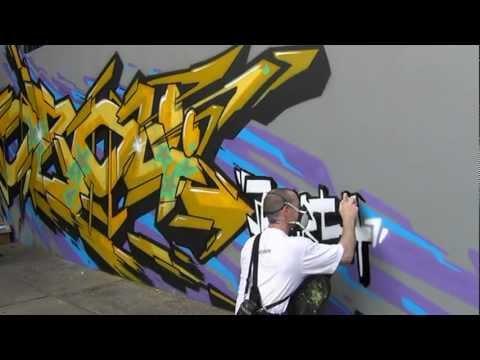 Motul @ Jakarta Graffiti by Hozoï