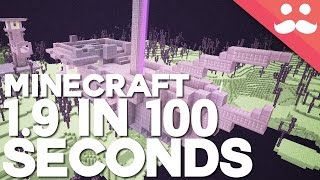 Minecraft 1.9 in 100 Seconds!