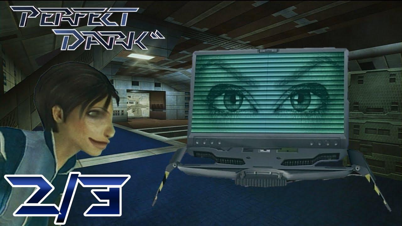 Guardias idiotas y científicos raros - Perfect Dark - Parte 2 Loquendo