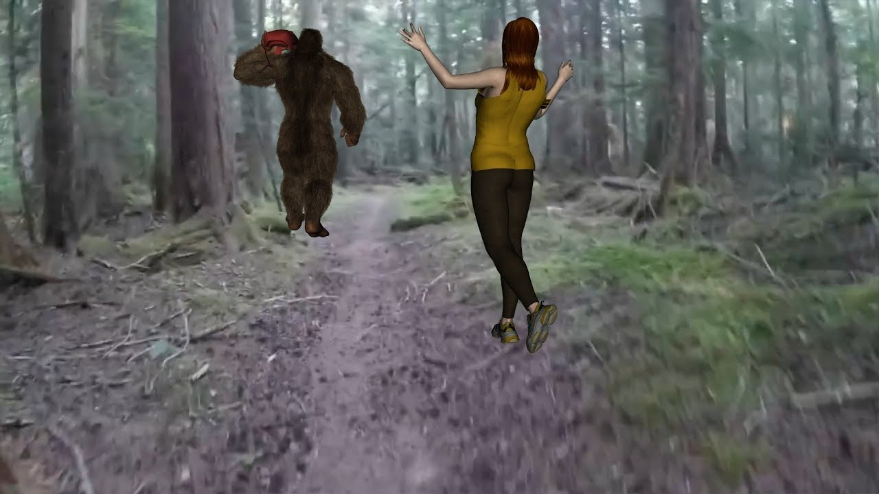 Teacher's Close Interaction With Bigfoot Couple, Changes Life on PCT Forever