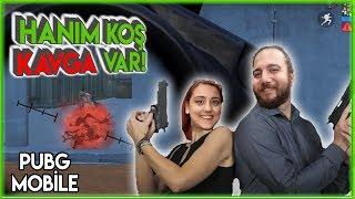 HANIM KOŞ KAVGA VAR! PUBG Mobile Kız Arkadaşımla Oynamak Gameplay Türkçe