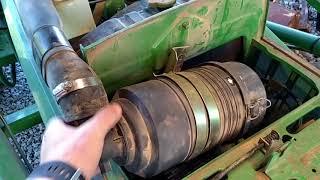 John Deere 790 Battery Removal
