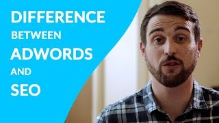 SEO vs PPC (What's the difference between AdWords and SEO)