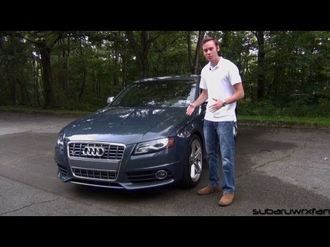 Review: 2010 Audi S4 w/ 6 Speed Manual