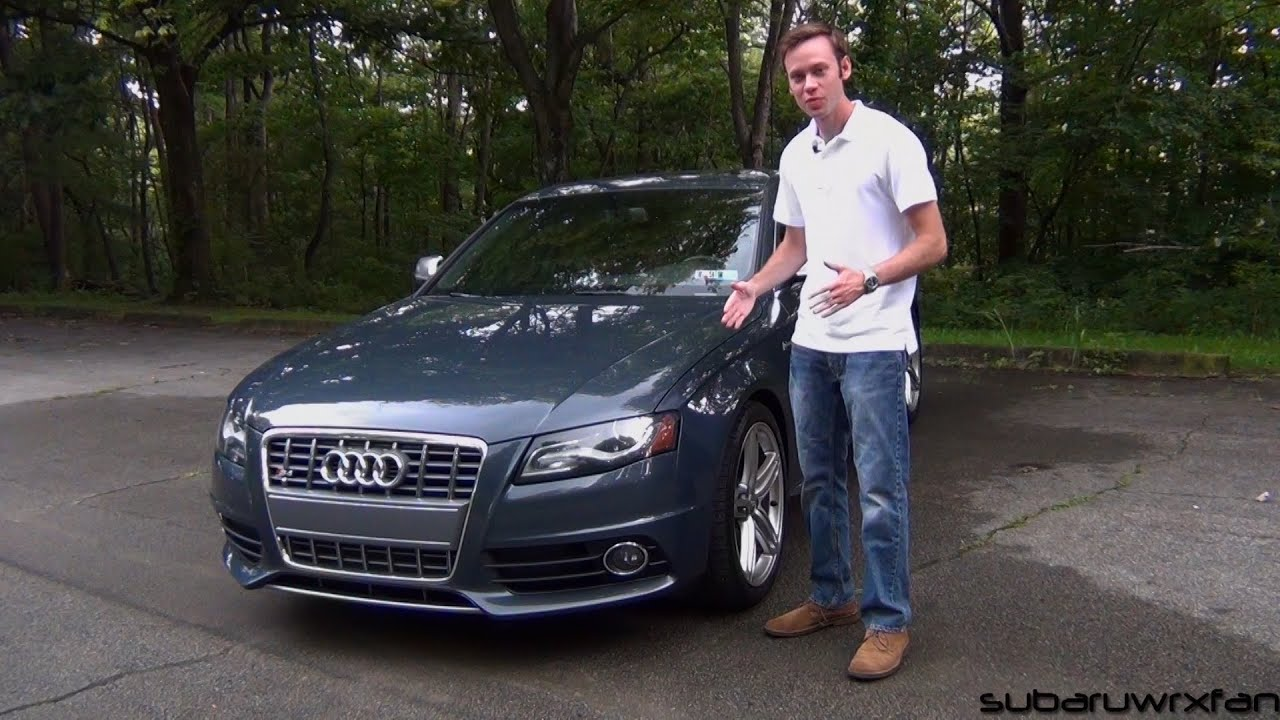 Review 2010 Audi S4 w 6 Speed Manual  YouTube