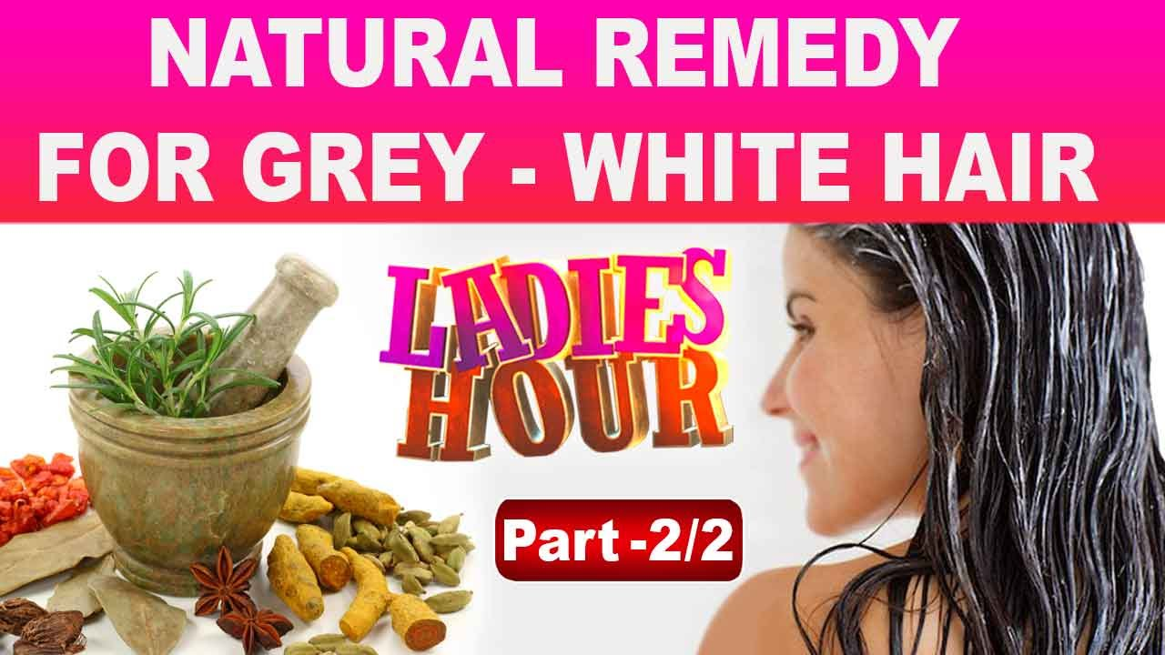 To Stop White Hair Naturally by using Herbal Hair Dye Part 02| Ladies Hour  | Kaumudy TV