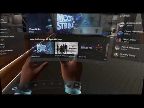 Oculus Home - Grabbing and Pinning windows from desktop tutorial?