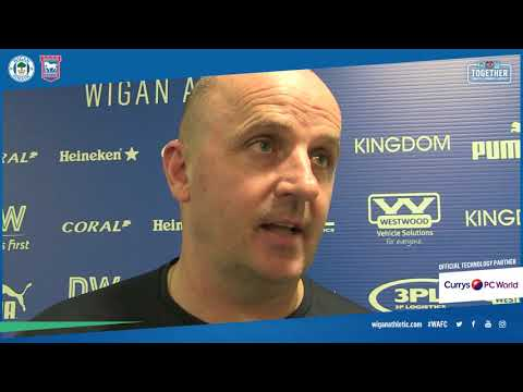 WATCH: Paul Cook on draw against Ipswich Town