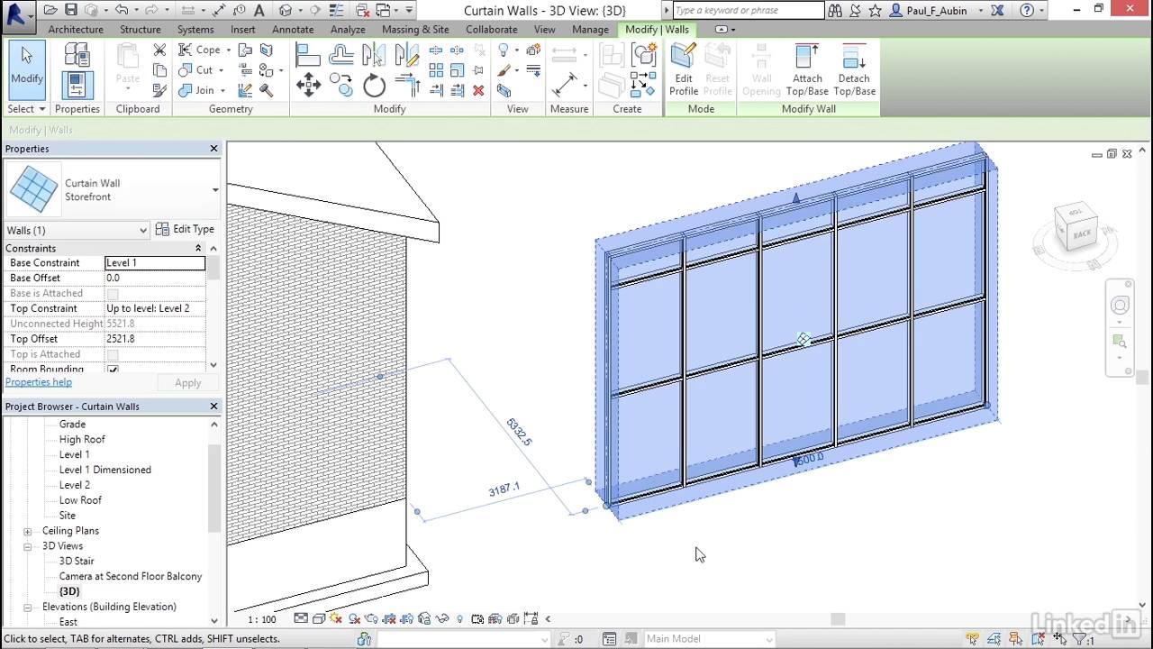 Revit Curtain Wall : Revit curtain wall tutorial redglobalmx