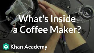 what is inside a coffee maker   reverse engineering   electrical engineering   khan academy