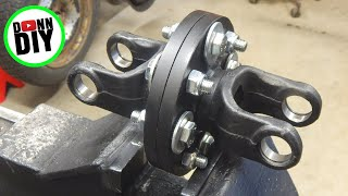 Tracked Amphibious Vehicle Build Ep. 9 - Mounting CVT, Welding Differential, Axle Dampers