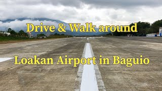 Loakan Airport Baguio City in the Philippines