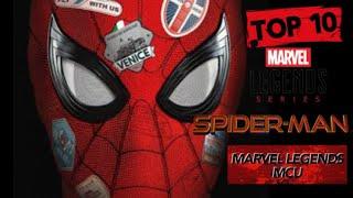 TOP 10 - ¡Las Figuras de Spider-Man del MCU más difíciles de conseguir!