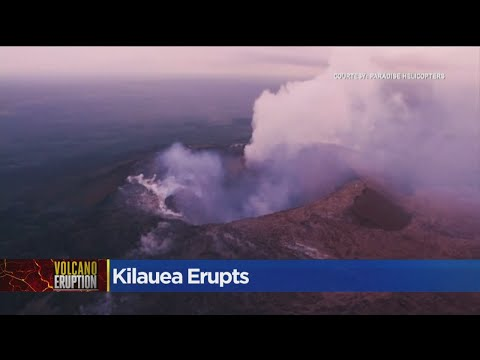 Kilauea Eruption Shouldn't Impact Sacramento Air