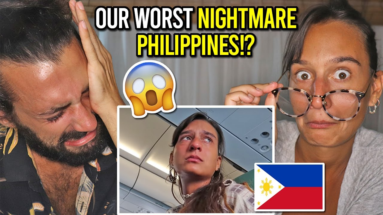 ARRIVING IN THE PHILIPPINES for the FIRST TIME (REACTING to our VLOG!)