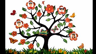 Family tree/ how to make family tree/ easy making family tree/ family tree making/ diy family tree
