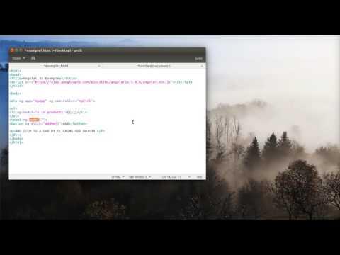 Shopping Cart Adding Items Using Angular JS | Part 1