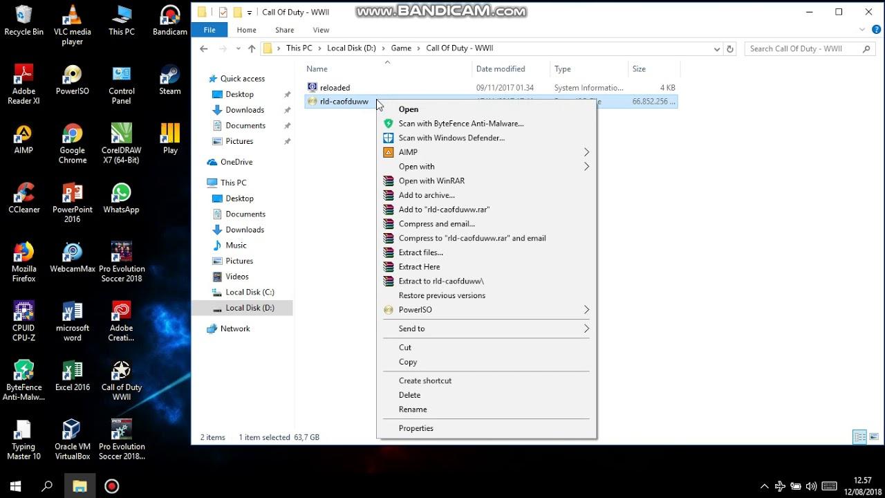 Cara Mount file yang bertype file Power iso - YouTube